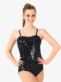 Adult Sequin Camisole Leotard