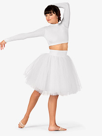 Adult Satin Romantic Tutu