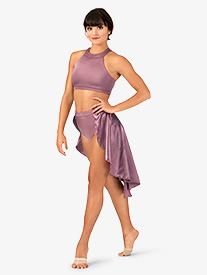 Adult Satin Bustle Skirt