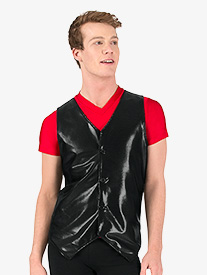 Mens Button Down Performance Vest