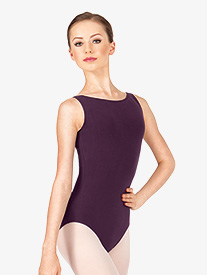 Adult Boatneck Tank Leotard