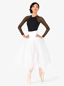 Adult Secure High Waist Juliet Tutu