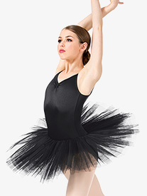 Womens 6-Layer Ballet Tutu Dress