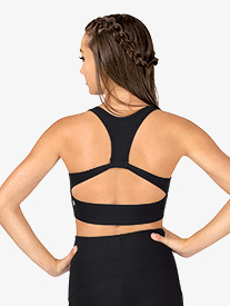 Womens Back Cutout Tank Sports Bra Top