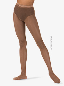 Womens Seamless Fishnet Dance Tights