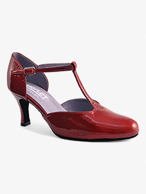 Womens Nina Patent Leather Ballroom Shoes