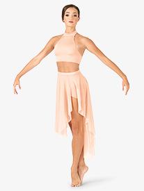 Adult Asymmetrical Dance Skirt