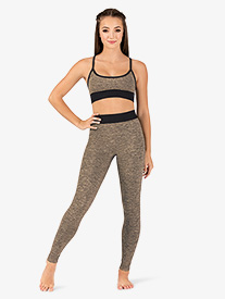 Womens High Rise Workout Leggings