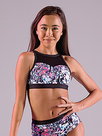 Girls Secret Garden The Reagan Dance Bra Top