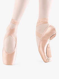 Bloch Womens Dramatica II Stretch Satin Pointe Shoe