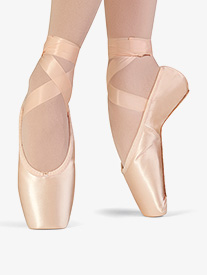 Womens Synthesis Full Sole Stretch Satin Pointe Shoe