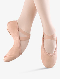 Child Pump Canvas Split-Sole Ballet Shoes