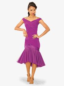 Womens Vida De Samba Ballroom Dance Skirt