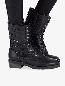 Girls Combat Boot