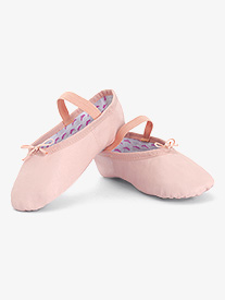 Girls Princess Full Sole Leather Ballet Shoes