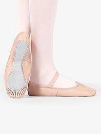 Child Premium Leather Full Sole Ballet Shoes