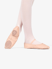Adult Leather Split-Sole Ballet Shoes
