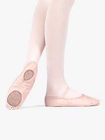 Child Canvas Split-Sole Ballet Shoes