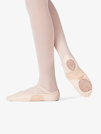 Adult SofTouch Canvas Stretch Split-Sole Ballet Shoes