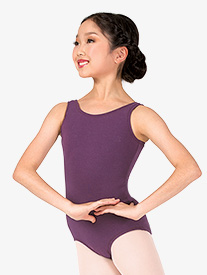 Girls Tank Cotton Dance Leotard