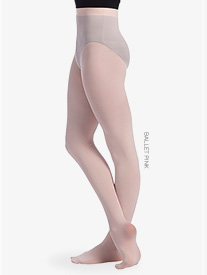Womens Seamless Footed Dance Tights