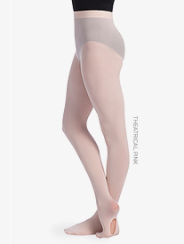 Girls Convertible Dance Tights