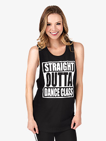 Adult Straight Outta Dance Class Tank Top