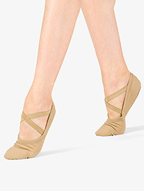Womens Stretch Canvas Ballet Shoes