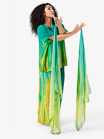 Worship Hand Painted Finger Drape with Elastic Loop