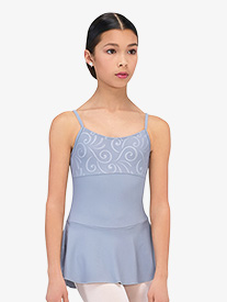 Womens Violetta Embossed Camisole Ballet Dress