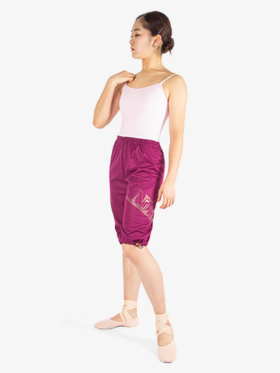 Womens Heat Retention Warm-up Shorts - Style No 0406PT