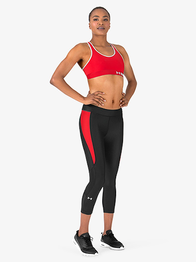 Womens Cropped Fitted Fitness Leggings - Style No 1297907x
