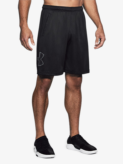 Mens Tech Graphic Workout Shorts - Style No 1306443x