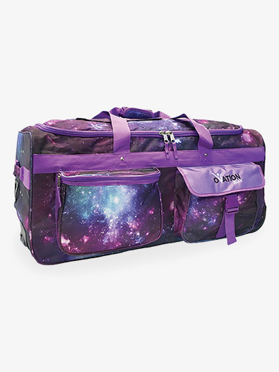 Large Galaxy Print Performance Bag With USB - Style No 1910ULE
