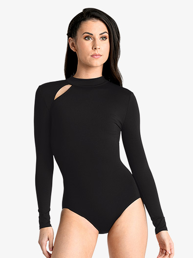 Womens Keyhole Long Sleeve Leotard - Style No 19119Ax