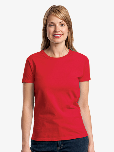 Ladies 100% Cotton T-Shirt - Style No 2000Lx