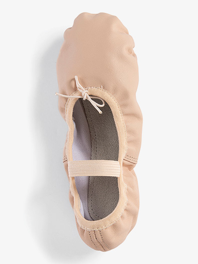 Adult Full Sole Leather Ballet Shoes - Style No 201A