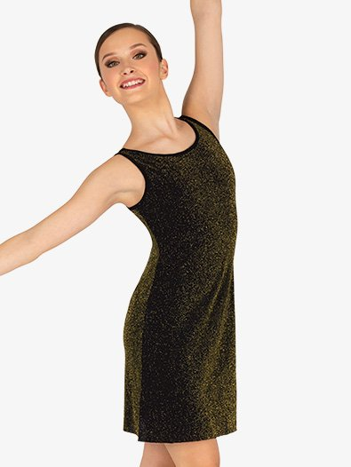 Womens Sparkle Tank Dance Dress - Style No 20207A