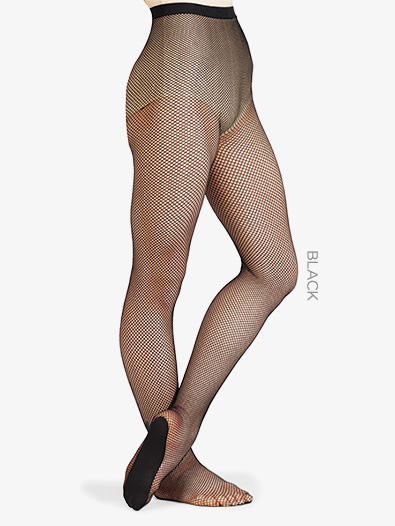 Adult Fishnet Professional Footed Tights - Style No 203