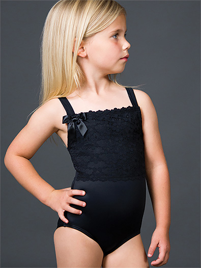 Girls Lace Tank Leotard - Style No 2160C
