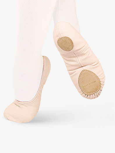 Womens TotalSTRETCH Canvas Split Sole Ballet Shoes by Angelo Luzio - Style No 246A