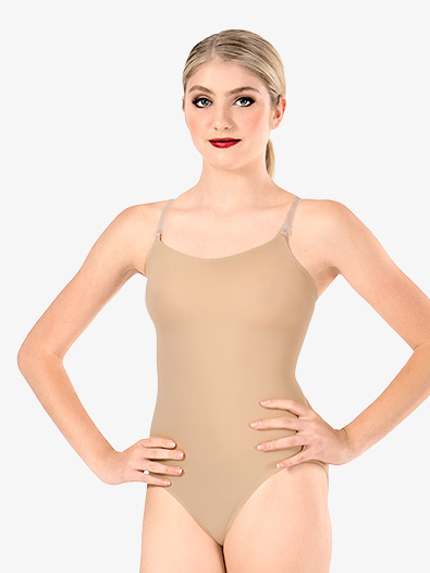 Adult Camisole Leotard with See-Through Straps - Style No 266