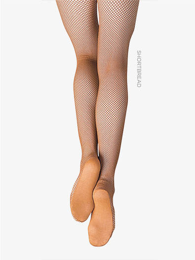 Adult Plus Size Professional Seamless Fishnet Tights - Style No 3000P