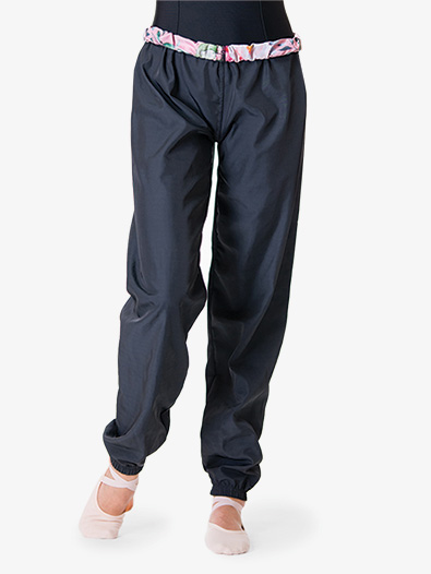 Adult Reversible Warm-Up Ripstop Dance Pant - Style No 7012