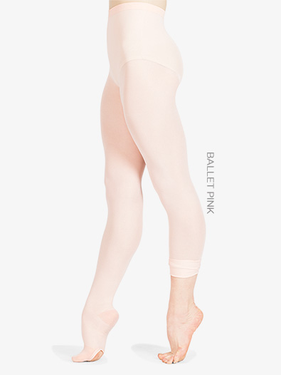 Adult Ultrasoft Microfiber Convertible Tights - Style No 702
