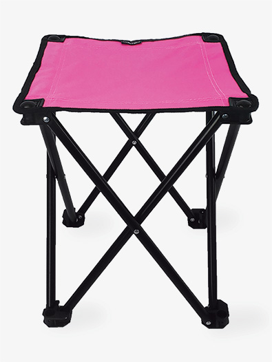 Lightweight Portable Folding Stool - Style No 7430