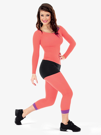 Adult/Child Low Rise Crop Tight - Style No 8217x