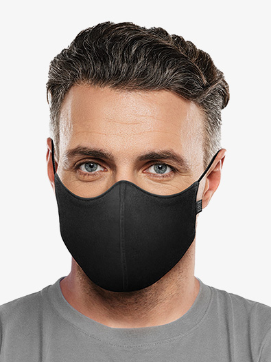 Adult Large Soft Stretch Face Mask - Style No A001AL
