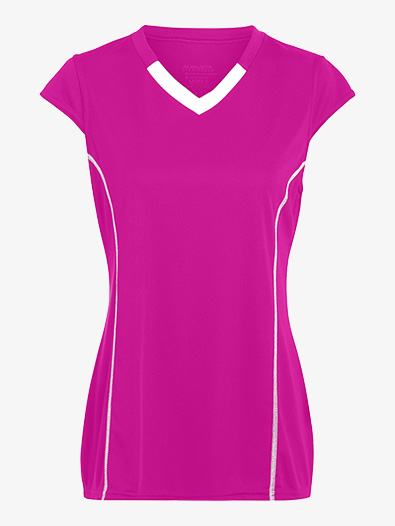 Girls Cap Sleeve Jersey Tee - Style No AUG1219E