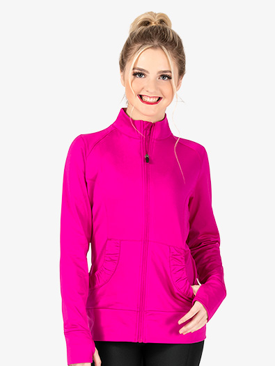 Ladies Zip Up Jacket - Style No AUG4816